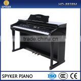 HUANGMA/SPYKER HD-8838M fashion digital upright piano China with 88 keys