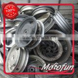 Taiwan motorcycle parts scooter used wheel Rims 10 12 17 18 inch export