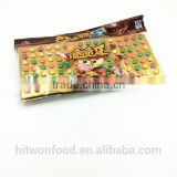 HItwon crisp chocolate beans pressed candy tablet candy