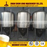 high quality beer brewing system with malt crush system , brew house, conical fermenter