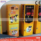 2015 Newest best selling indoor game arcade coin/money/currency exchange machine for shop