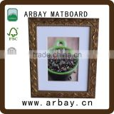 wholesale custom picture frame mat cutting wooden frame shadow box baroque frame free