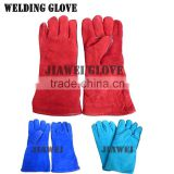 Cow Leather Work Glove Welding Leather Glove/Guantes De Cuero 058