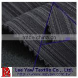 100% polyester bar cord pique fleece fabric with anti-pilling