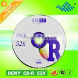 Low defective rate hot selling blank cd disc