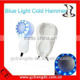 Home use cold hammer cryotherapy for skin tightening led blue light beauty machine B-6677