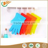Cookware sets kitchen household silicone gloves,heat insulating gloves,FDA silicone oven mitts