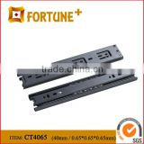 Black deep groove ball bearing drawer slides