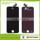 Guarantee Original Quality OEM For iPhone Parts Wholesale, Repair Parts For iPhone, For iPhone5 Display