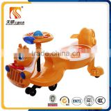 Funny outdoor playing twist toy car wiggle car swing car for kids toys in China