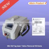 K8 Super Fast Color Touch Screen Customized 6HZ Q-Switch nd yag laser for Tattoo Removal