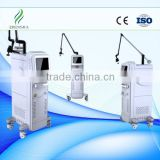 Vertical Multifunctional Fractional Co2 Laser Machine Tattoo /lip Line Removal With Glass Tube RF Tube Face Whitening