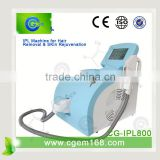 CG-IPL800 Professional tria skin rejuvenating laser for Hair removal and Skin rejuvenation