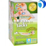 Disposable Plastic Thin bags Customized Colors Baby Nappy Sack