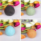 100% Natural Vegetable Fiber Konjac Sponge Skin Cleaning Cotton/Facial Clean Puff