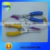 Top quality multi -function aluminum fishing lures pliers,multi purpose lures pliers