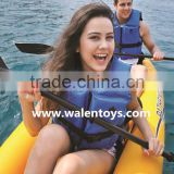 sit on top kayak,inflatable canoe/boat river/sea fun