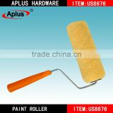 free art supply samples names of Aplus paint brushes durable synthetic fine fabric lint free paint roller
