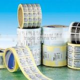 Barcode self adhesive label