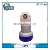 HSTD high gain Universal single &twin LNB / c ku LNB from china