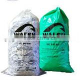 Custom printed low cost plastic garbage bags
