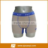 High Quality Fashion Hot Sale Mens Underwear Boxers Cotton Skin&Blue Seamless Wholesale Sportman Boxers OEM Service