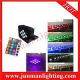9*18w RGBWA+UV 6 In 1 IR Remote Control LED Par Light LED Par64