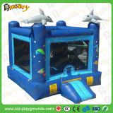 Ocean theme small simple jumping castle/bouncy castles/bounce house for kids