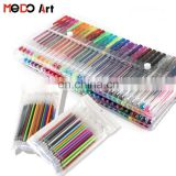 Hot sales 240 Gel Pens Set with Ink Refills 120 Unique Colored Gel Pen and 120 Replace Ink Refills