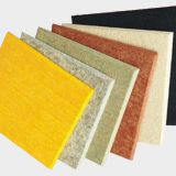 china 9mm Polyester fiber acoustical panel for cleaning up echo