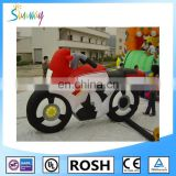 Sunway Attractive Advertising Giant Inflatable Pvc Motorcycle for Sale