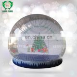 Clearly inflatable snow globe tent, PVC inflatable snow globe, inflatable large snow globes