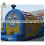 2016 locomotive inflatable bouncy castle funny castle / inflatable bouncer for sale