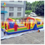 Newest Inflatable tunnel slide obstacle combo inflatable obstacle course