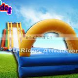 40m inflatable dry slide for water park