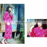 Fashion Trendy Hotel Front Office Staff Kimono Uniform For Waitress