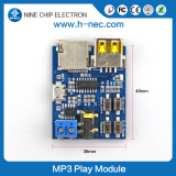 PCB music player module ic sound chip with usb