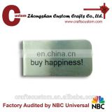 Custom cheap money clip/blank money clip