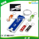 Winho prmotional items Imprinted LED Keychain
