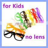 Plastic Children Glasses No Lens