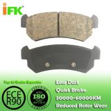 96405131/GDB3348 Semi-metallic/Low-metallic/NAO/Ceramic Disc brake pad manufacturer