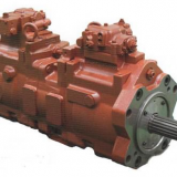 K3v112dt-1xkr-9nc9 Variable Displacement Kawasaki Hydraulic Piston Pump 200 L / Min Pressure