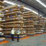 Cantilever Lumber Rack Heavy Duty Cantilever Racks Suitable For Storage Of Long Curled Goods