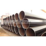 Ms Steel ERW carbon ASTM A53 black iron pipe welded sch40 steel pipe for building material