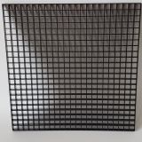 plastic eggcrate grille black,egg crate core