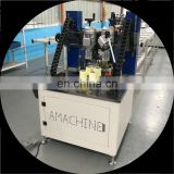 Advanced CNC knurling machine and strip insertion for aluminum window and door