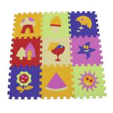 QT MAT Non-toxic Safe Multi Colors EVA Foam Baby Play Puzzle Mat