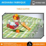 Fabric Painting wrinkle Free Banquet Table Cloth Available at Bulk Rate