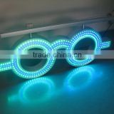 2015 new products outdoor advertising led electronics optic led sign animat, optical glasses sign