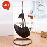 living gazebo rattan hanging swing chair UV-resistant ZG-4DL
